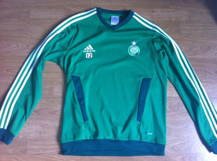 Sweat Entrainement porté JP Mignot AS Saint-Etienne 2011/2012