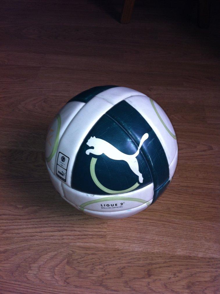 Ballon du match Sedan-Bastia en Ligue 2 2011/2012