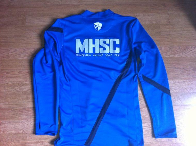 Sweat Entrainement porté par Remy Cabella MHSC 2012/2013