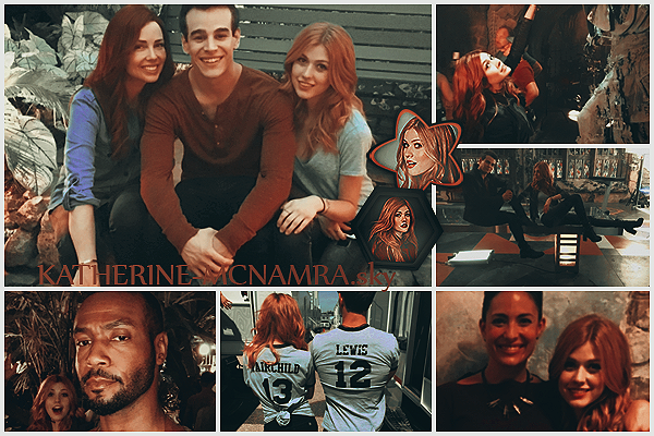 Saison 2                                                                                      Candid and News | 2016 | Photos de Kath en tournage pour ShadowHunters Saison 2 On the Set