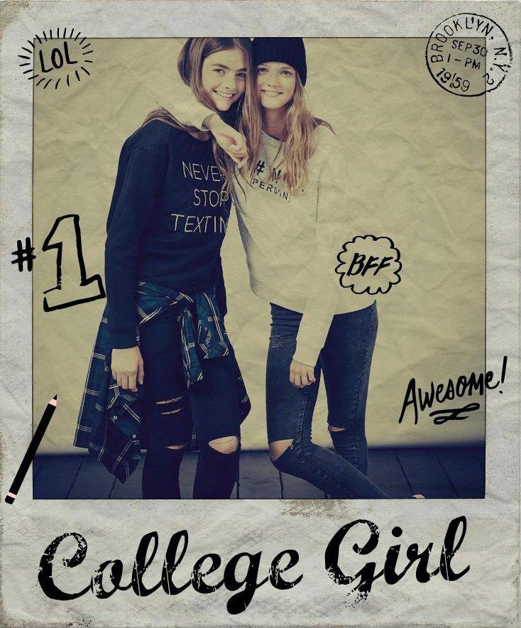 Trends #CollegeGirl