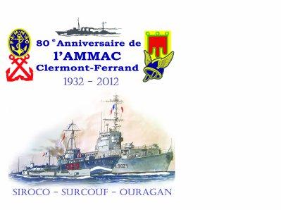 ENVELOPPE  80e ANNIVERSAIRE AMMAC CLERMONT FERRAND