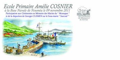 ENVELOPPE  ECOLE Amélie COSNIER
