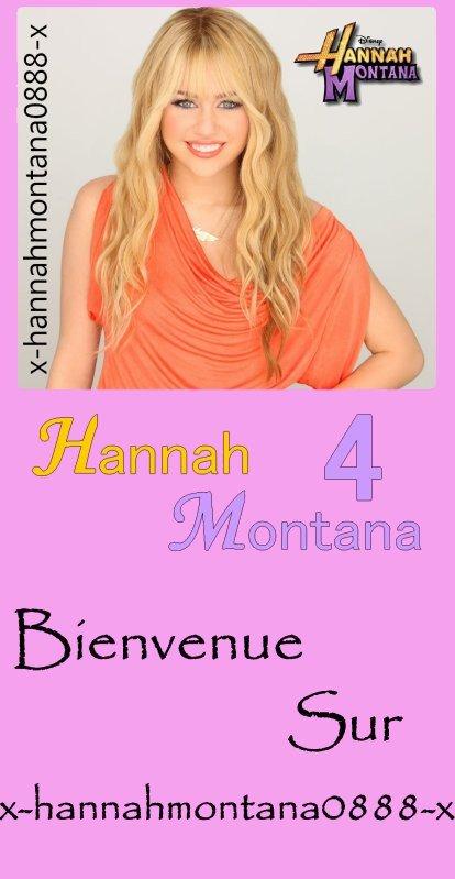 Bienvenue sur x-hannahmontana0888-x