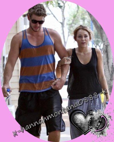 Miley et Liam ; la rupture innatendue ...