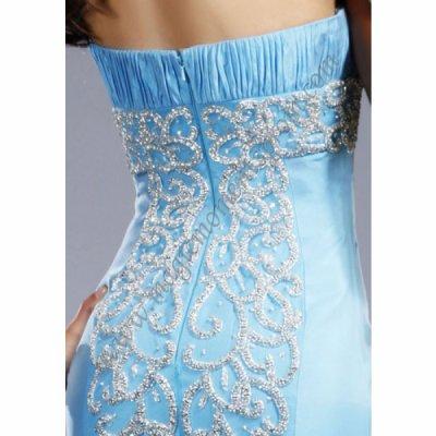Magnifique Robe de Soirée JOVANI   coloris bleu