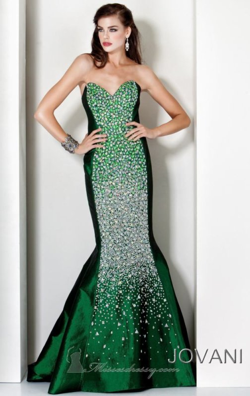 Magnifique Robe Sirene jovani T 36  coloris noir