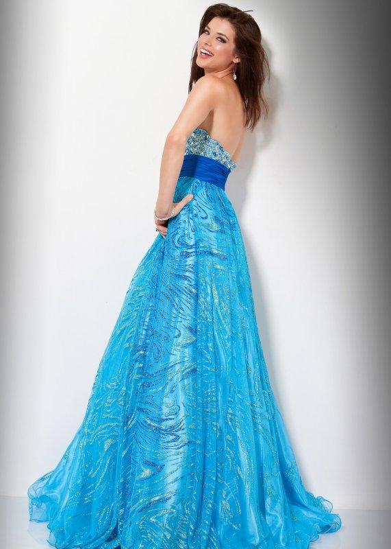 Magnifique Robe Princesse  jovani T 34
