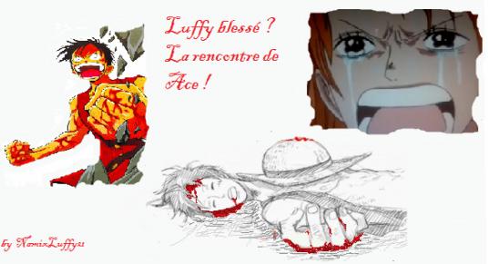 Chapitre 8 : Luffy blessé ! La rencontre de Ace !