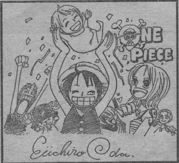 Dessin de Eiichiro Oda ! Une nouvelle preuve du LuNa ?