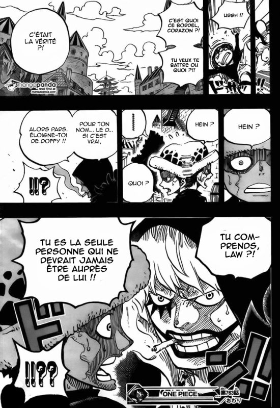 Spoil- One piece scan 763 ! Le secret du D ?