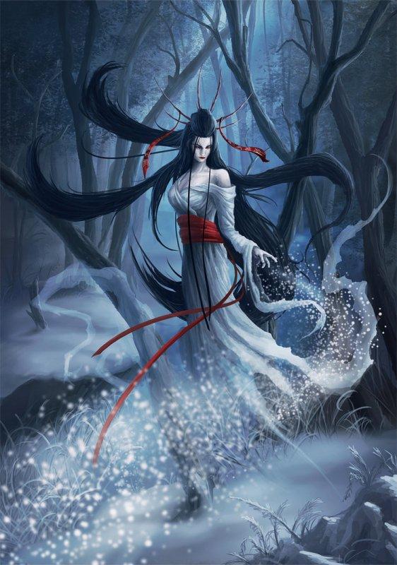 Contes et légendes : Yuki-onna