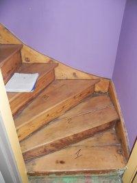 L'escalier ...