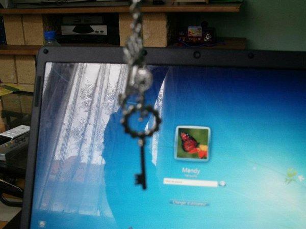 Pendentif clé