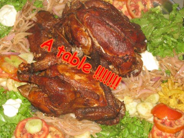 Aujourd'hui comme tous les Samedis on mange du poulet mais cette fois si on va pas au resto :) ♥