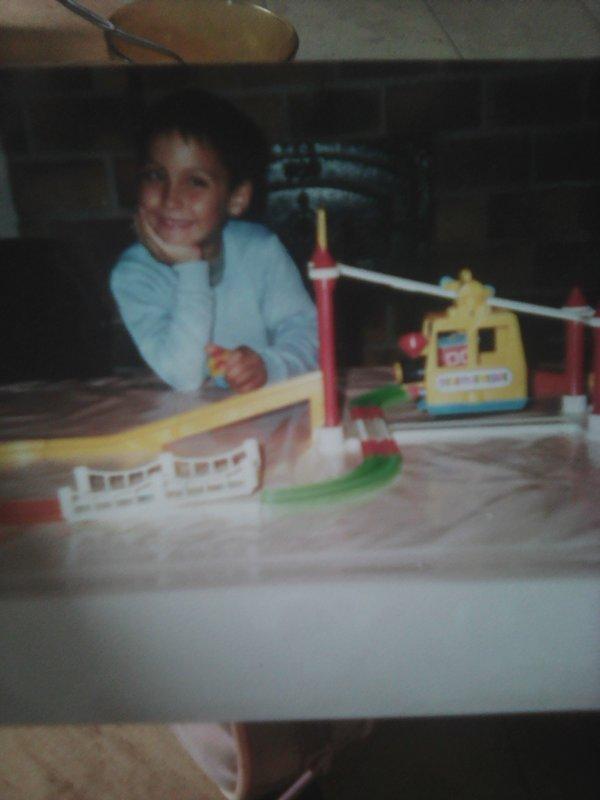 Moi à 5 ans...