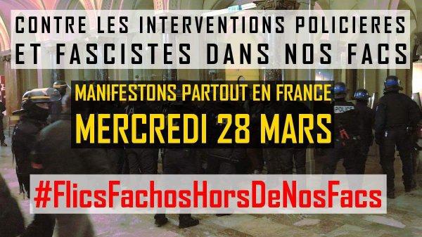 Ils n'arriveront pas à nous faire taire!  Encore une attaque fasciste à Strasbourg