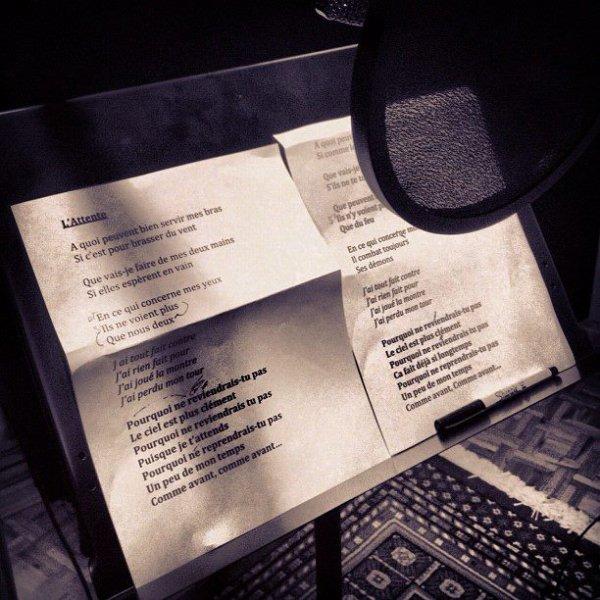 """Le titre """" L'attente """" pour le nouvel album de Johnny."""