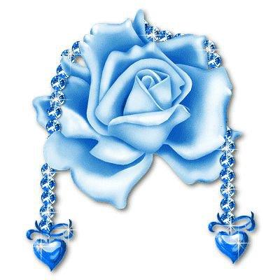 rose en avec coeur avec forme de porte clef