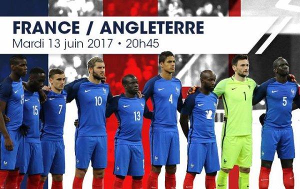 Maillot du match face à l Angleterre 13juin 2017