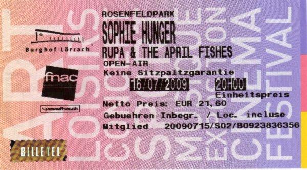 Sophie Hunger.