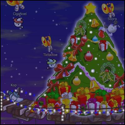 Those Christmas lights, keep shining on.