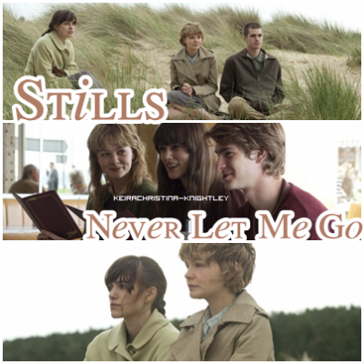 .  _______11 septembre 2010 ;_______ Never Let Me Go + Nouveau court métrage + Pub Chanel. .