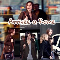 .  _______1er novembre 2010 ;_______Festival de Rome + Candids + Movies' Trailer.