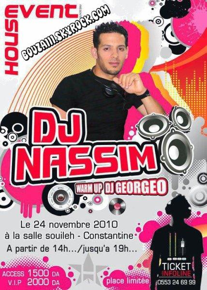 DJ NASSIM 2010 Le 24 novembre