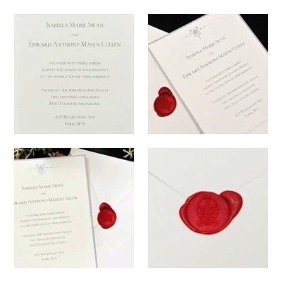 L'invitation au Mariage de Bella et Edward !
