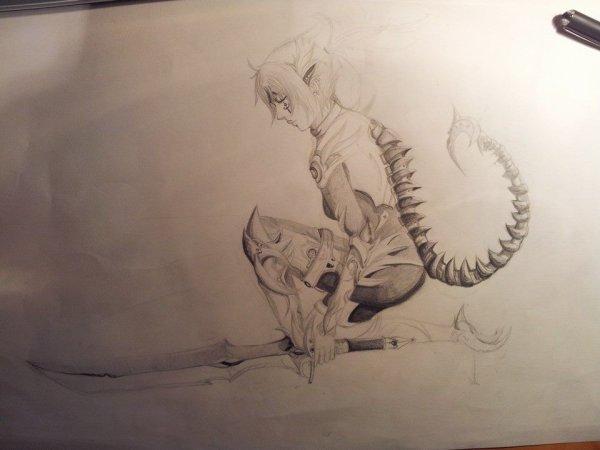 Armure scorpion