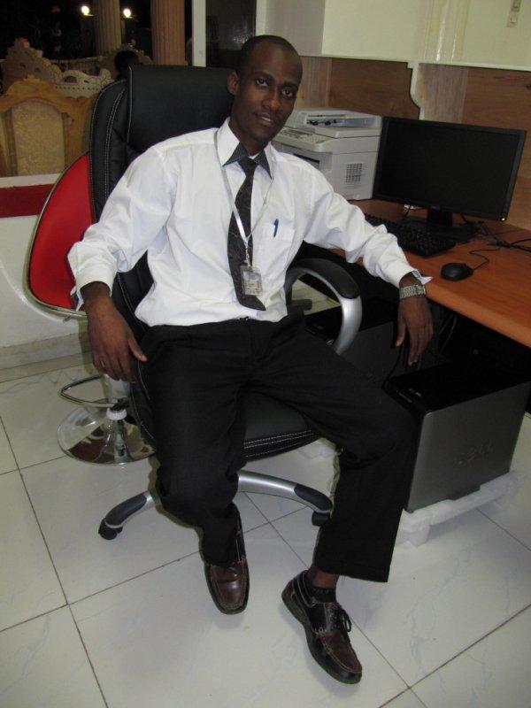 Dans mon bureau