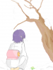 Hinata in kimono