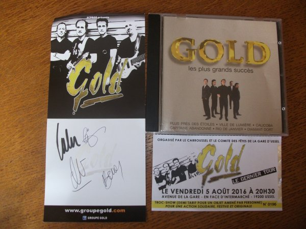GOLD....