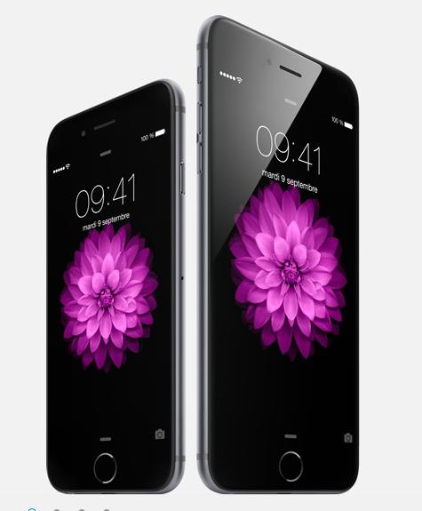 Les prix de l'iPhone 6 communiqués