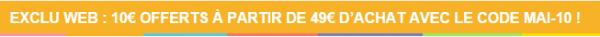 Loisirs & Création : le site propose un rabais de 10 euros