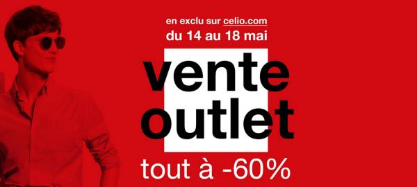 Celio : achetez à -60% jusqu'au 18 mai