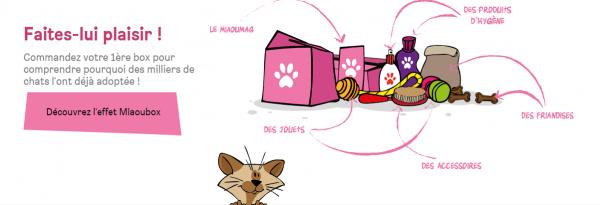 Boîtes à surprises : Miaoubox et Woufbox vous sont proposées à prix moindre