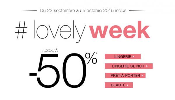 Lovely Week : Etam vous propose une semaine de promos