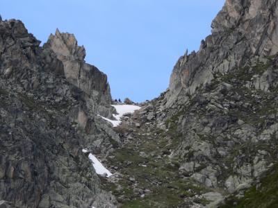Sur le chemin pour la fenetre d 39 arpette mont blanc 2007 for Fenetre d arpette