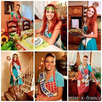 """Delphine Wespiser participe à """"Un dîner presque parfait"""""""