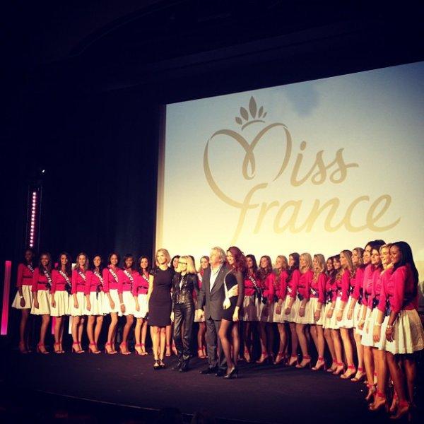 Début de l'aventure Miss France 2013 : Séjour parisien