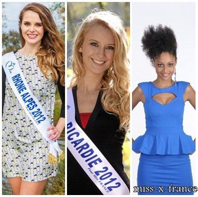 Miss France 2013 - Mes favorites