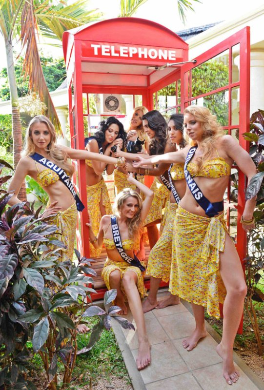 Les Miss à l'Ile Maurice
