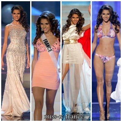 Marie Payet à Miss Univers !