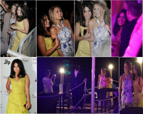 12 Mai 2011 : Vanessa c'est d'abord rendu a l'évènement Calvin Klein,puis s'est rendu au Baron et pour finir sa soirée en beauté,elle était dans la boite de nuit le Baoli  avec son amie Laura. Top / Flop ?