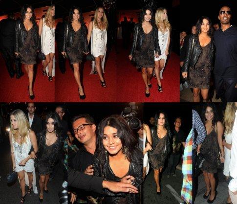 13 Mai 2011 : Vanessa se rendait au Belvedere,sur la première rangé de photo vous pouvez voir son arrivé,la seconde rangé de photo est sa sortie,elle était en compagnie de Laura.