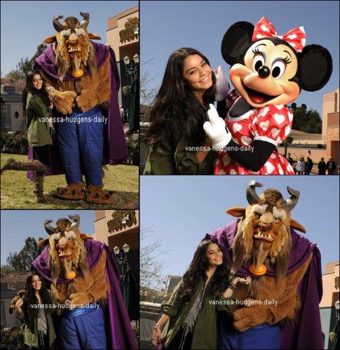 Découvre quelques photos de Vanessa a DisneyLand le 13 février 2011