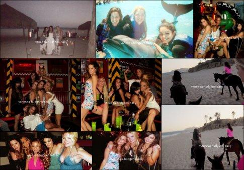 Découvre ou re découvre les photos de Vanessa au Mexique avec Laura,Ashley Tisdale et d'autres amis. Vanessa avait l'air déchainée sur quelques photo