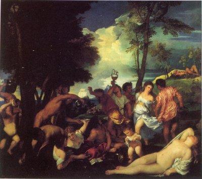 Titien - La Bacchanale des Andriens (1518-1519)
